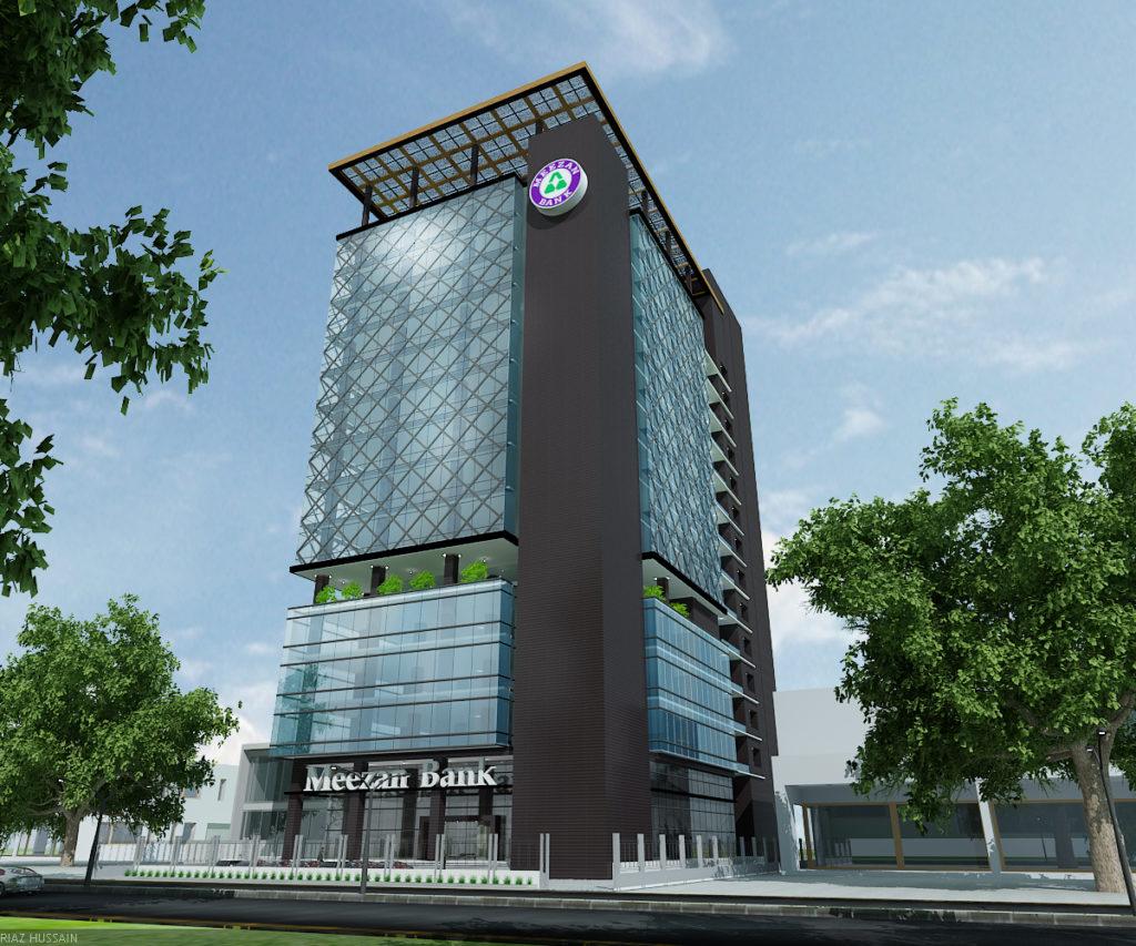 Meezan Bank Headoffice Lahore - Identity Design Studio